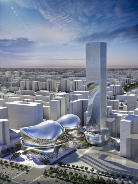 经典未来建筑设计图片