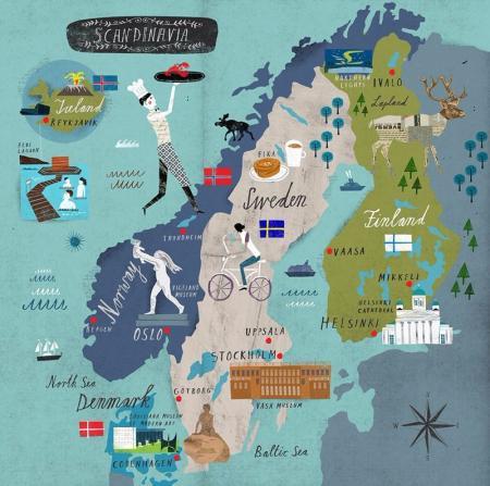 高端北欧设计图片