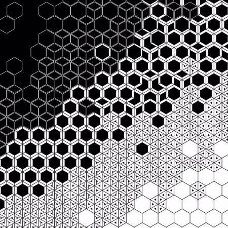 黑白纹理设计图纸