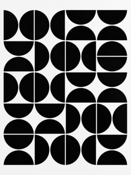 设计图纸 黑白纹理
