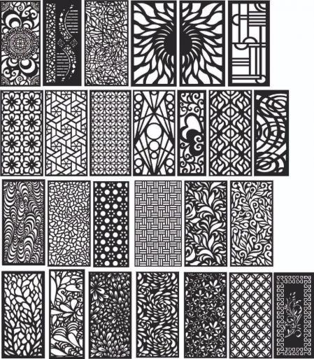黑白纹理 设计案例