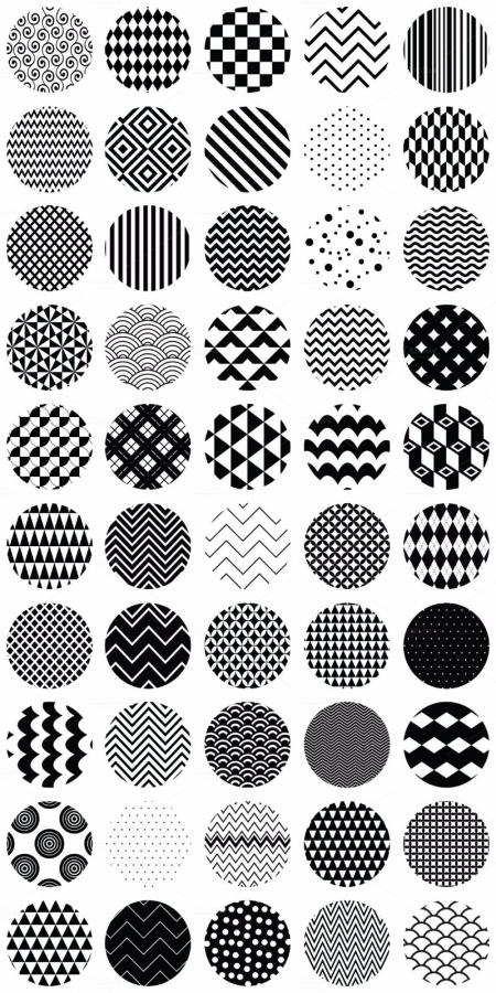 黑白纹理 大全设计