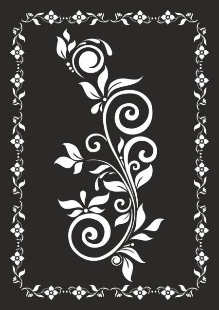 黑白纹理 效果国 设计