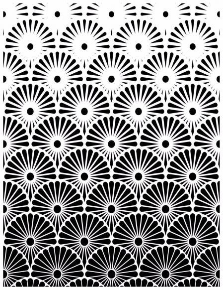 创意黑白纹理设计参考