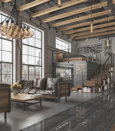 loft设计图库