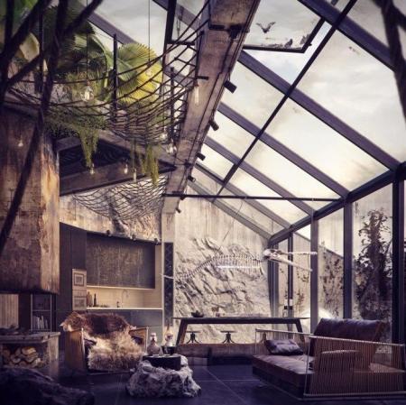 设计灵感图 loft