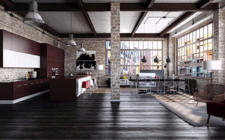 设计作品集 loft