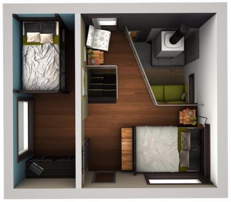 创意loft设计灵感图