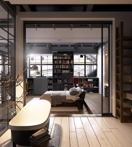 高端loft图纸