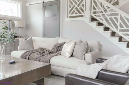 楼房装修简欧式设计图片