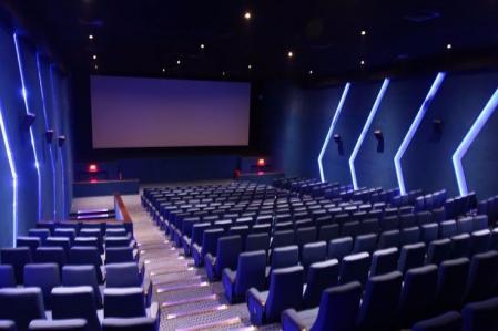 超现代影院售票设计效果图