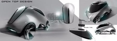 特色汽车设计素材 设计