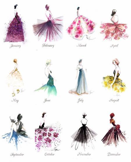 流行服装素材