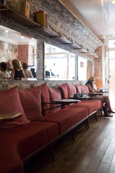 咖啡馆的室内设计