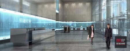 小清新展厅设计
