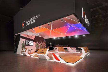国外个性科技展厅设计