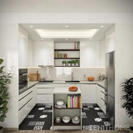 高档厨房间