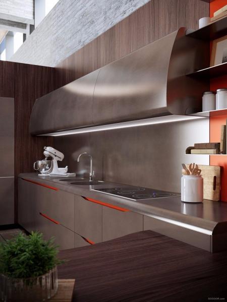 精美厨房间