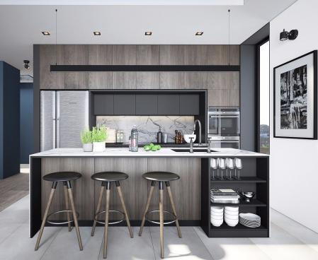 厨房间的装饰 设计