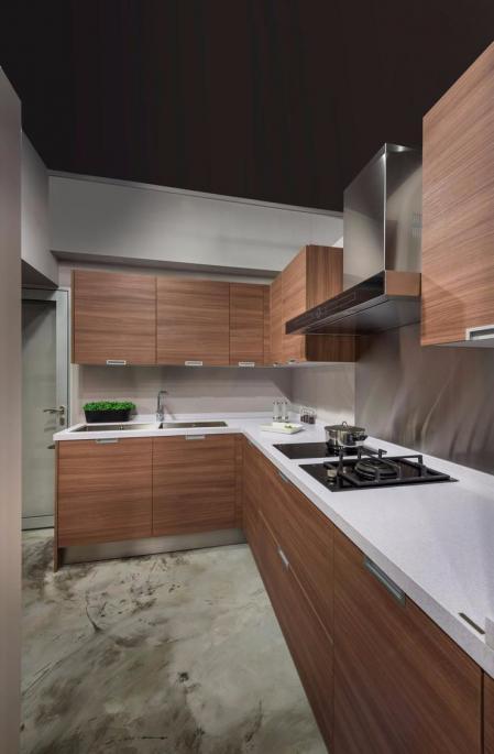 创意厨房装潢样板房