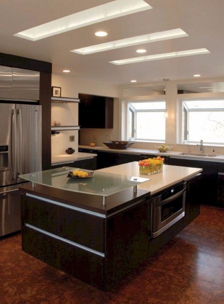 创意厨房间装修样板间