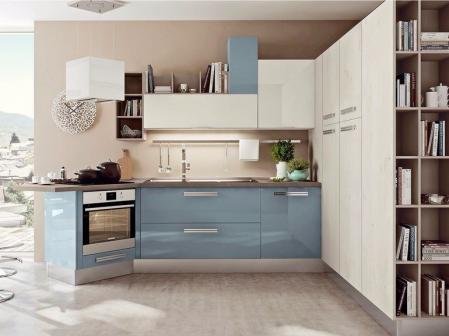 创意厨房间装潢效果图