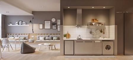创意公寓素材 设计