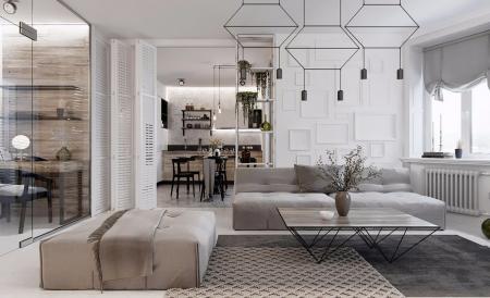 创意公寓设计图集