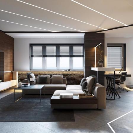 创意公寓装饰样板房