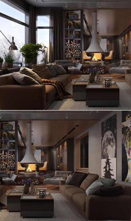 特色公寓装潢图