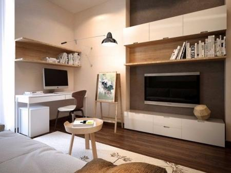 高端公寓装潢图