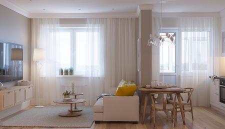 高端公寓的装潢设计