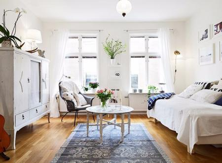 高端公寓装潢样板房