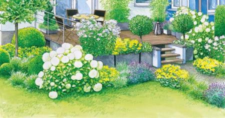 创意庭院简单设计