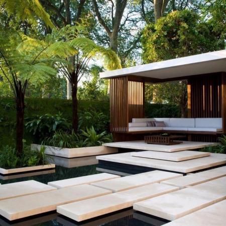 创意庭院装修样板房