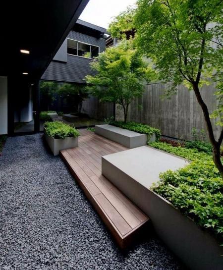 创意庭院的装修效果图