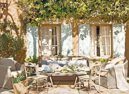 特色庭院设计 图库