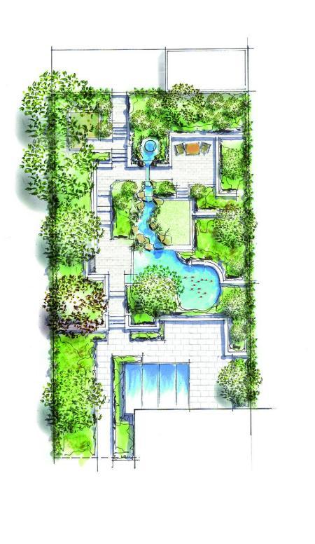 高端庭院设计图