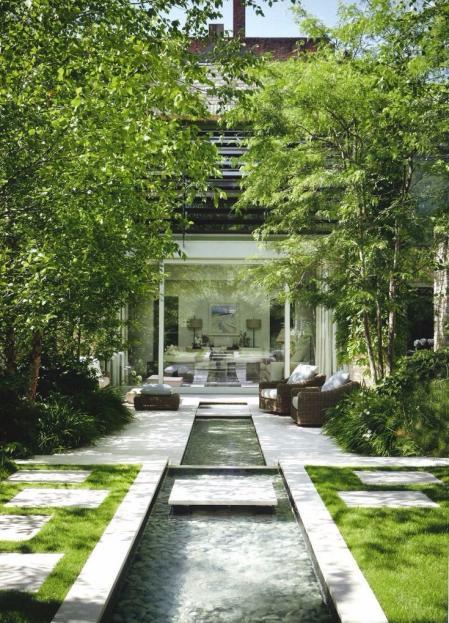 流行庭院参考 设计