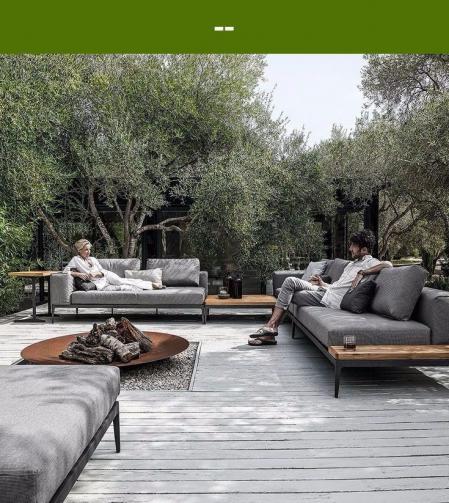 流行庭院设计 灵感