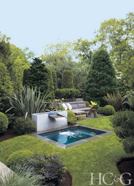 流行庭院设计素材
