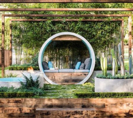流行庭院设计照片