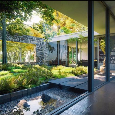 流行庭院简单设计