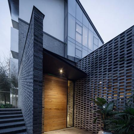 创意别墅景观设计 素材