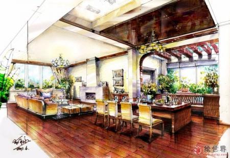 个性别墅景观家居设计