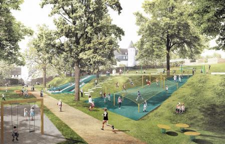 高端广场景观素材设计
