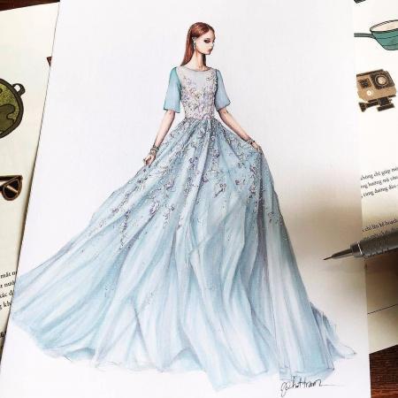 创意服装手绘设计素材