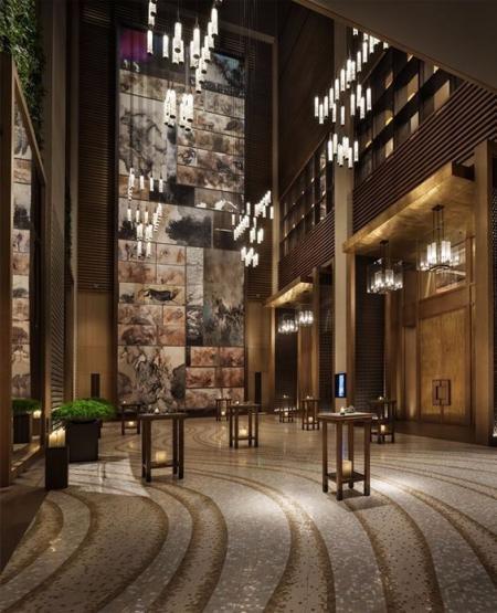 酒店大堂设计 参考