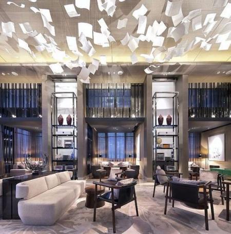 酒店大堂素材设计