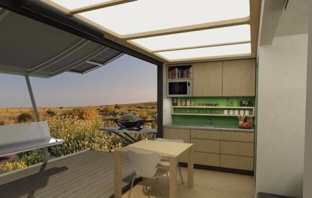 个性集装箱改造家居设计